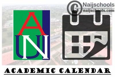 American University of Nigeria (AUN) Academic Calendar for Spring