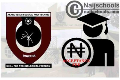 Akanu Ibiam Federal Polytechnic Unwana Admission Acceptance Fee Schedule for 2020/2021 Academic Session   CHECK NOW