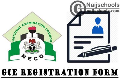 NECO GCE 2020 November/December SSCE External Registration Form (Instructions and Guidelines) | APPLY NOW