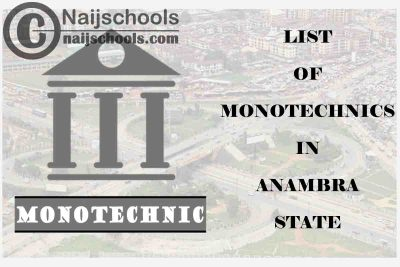 Full List of Accredited Monotechincs in Anambra State Nigeria