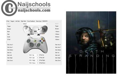 Death Stranding X360ce Settings for Any PC Gamepad Controller   TESTED & WORKING