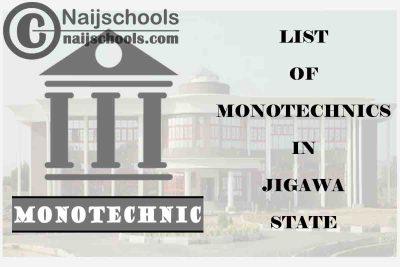 Full List of Accredited Monotechnics in Jigawa State Nigeria