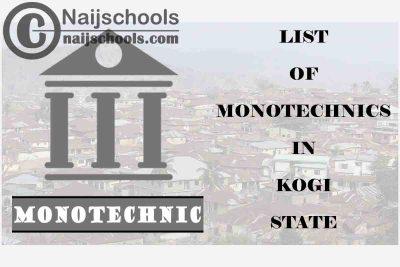 Full List of Accredited Monotechnics in Kogi State Nigeria