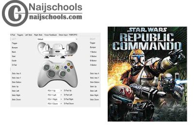 Star Wars: Republic Commando X360ce Settings for Any PC Gamepad Controller | TESTED & WOEKING