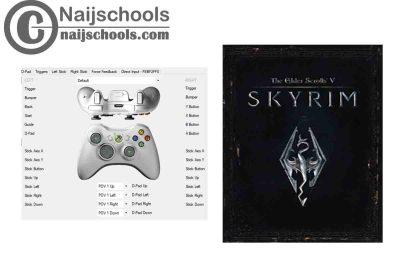 The Elder Scrolls V: Skyrim X360ce Settings forAny PC Gamepad Controller | TESTED & WORKING