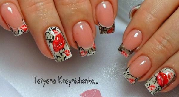 Модный яркий маникюр фото актуального дизайна ногтей -Фото ...