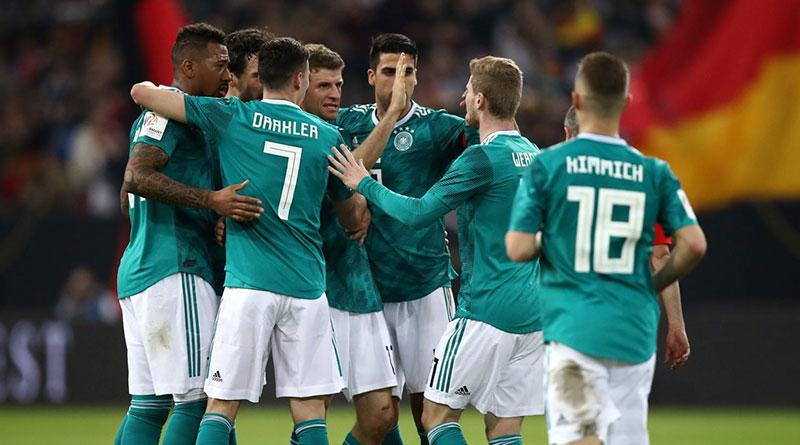 Германия - Испания
