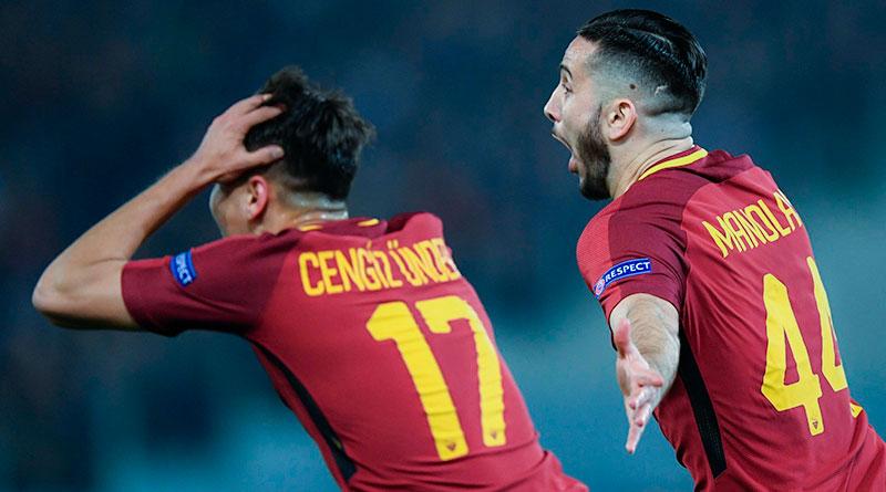 Рома крупно обыгрывает Барселону в Риме