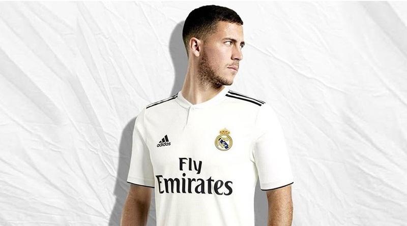 Азар официально перешел в Реал