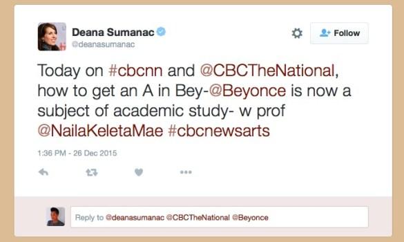 Image of CBC tweet