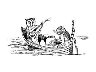 Edward Lear - Non-sense Illustration