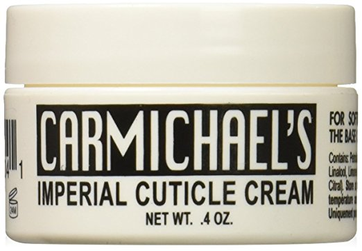 Carmichael's Cuticle Cream Fingernail and Toe Nail Treatment and Strengthener Promotes Nail Growth and Health Repair Brittle Split and Cracked Nails
