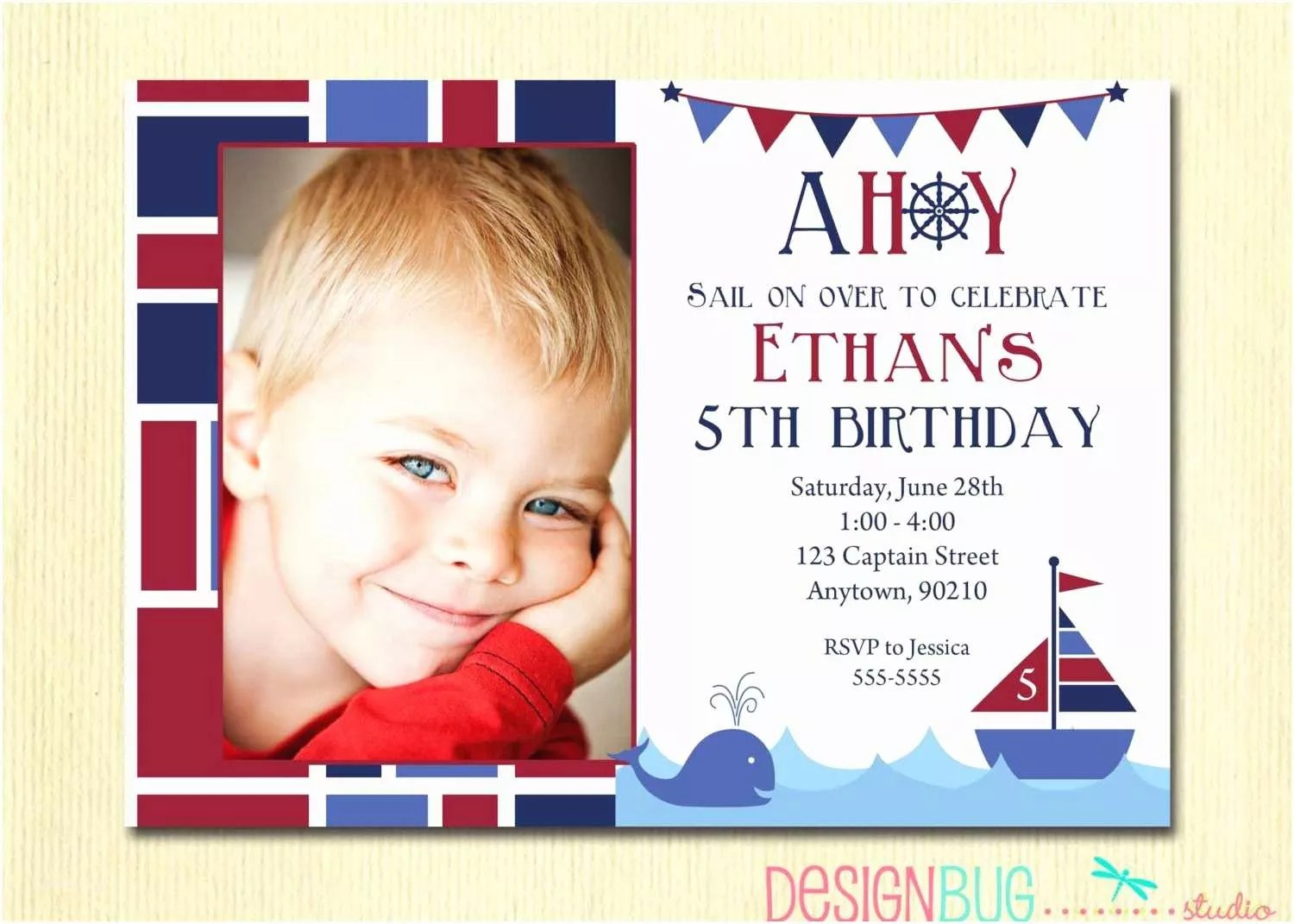5 year old birthday invitation rhymes
