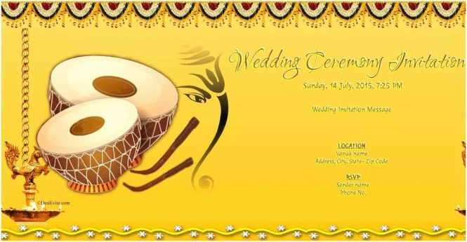 Ecards For Wedding Invitation Indian