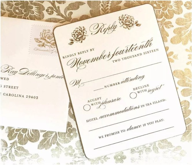 Decline Wedding Invitation Sample: Decline Wedding Invitation