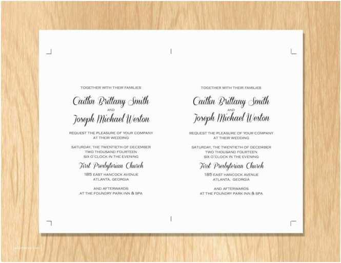 Samples Of Wedding Invitations Sample
