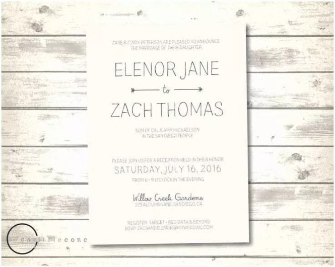 Target Wedding Invitations Tar