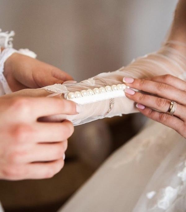 Свадебный маникюр для стильной невесты 2021 - 3