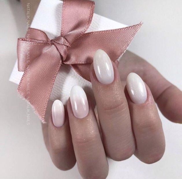 Свадебный маникюр для стильной невесты 2021 - 26