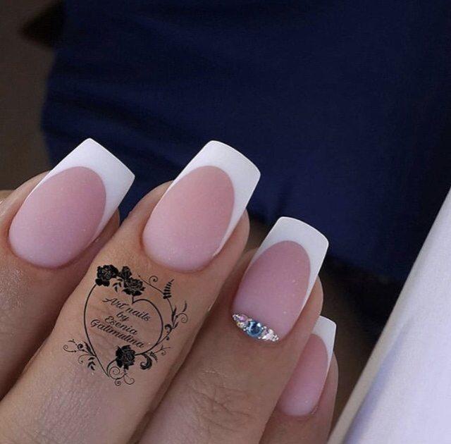Свадебный маникюр для стильной невесты 2021 - 9