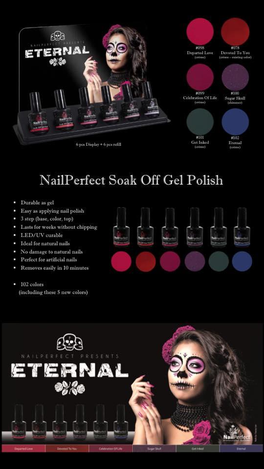 Nail Perfect Winter kleuren