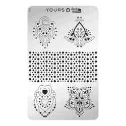 YOURS Stamping Plates Shapes in Symphony 8719324059794