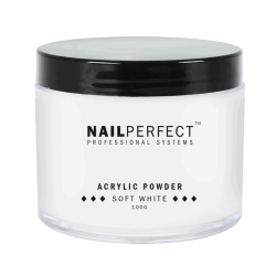 NailPerfect Acryl Poeder Soft White 100gr.(1299851011)