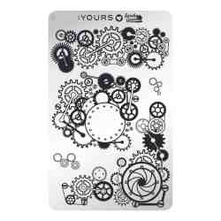 YOURS Stamping Plates Mechanic Madness 8719324059213