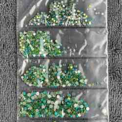 Crystal Nail Stone 09