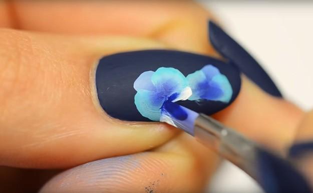 Rose Acrylic Nail Design Best Art