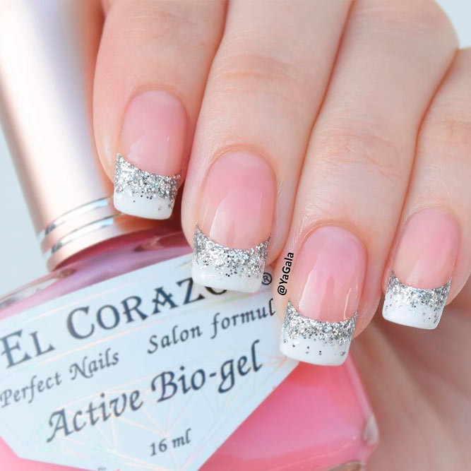 Cute French Tip Nail Designs Picture 1