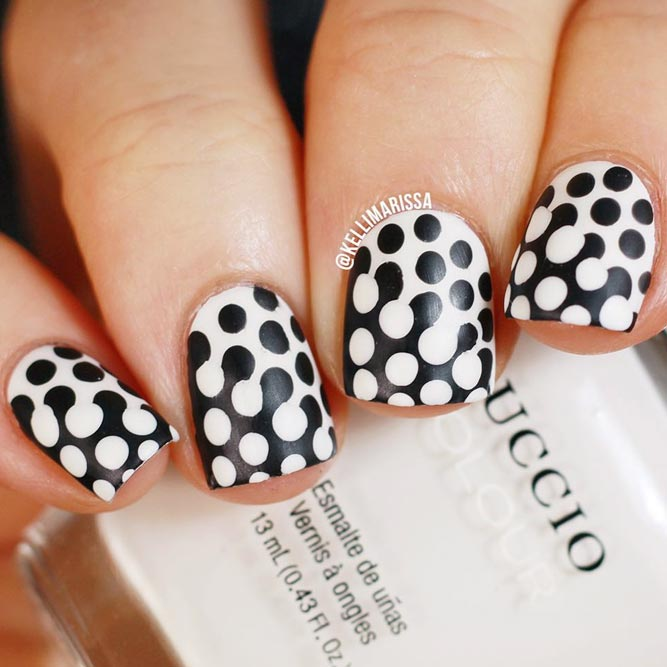 Fancy nails best ideas for win win manicures crazyforus charming variations of dotticure prinsesfo Image collections