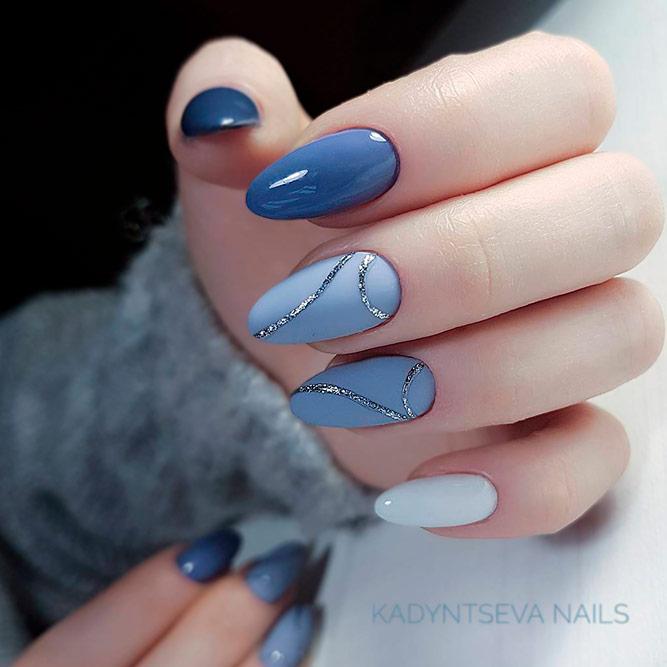 Light Blue Nails Designs