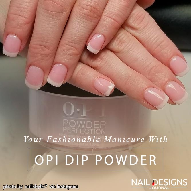Dip Powder From OPI