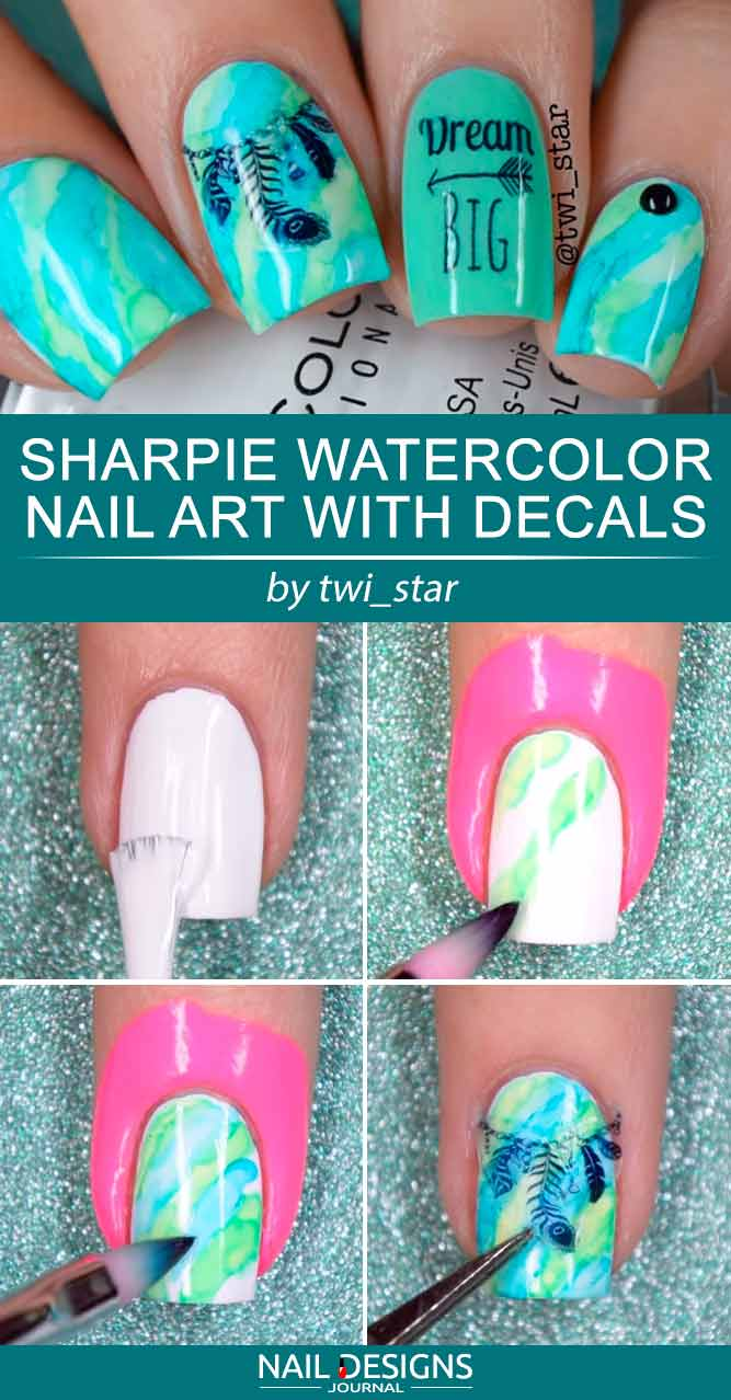5 Ways To Do Sharpie Nail Art At Home