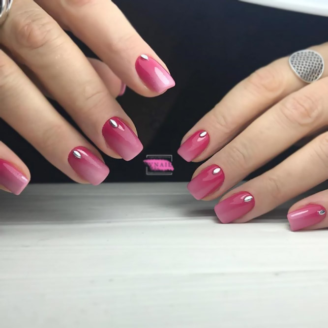 Two-Сolor Ombre Manicure