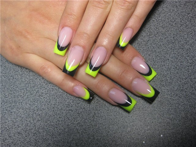 Fl Nail Designs As Well Other Funky Patterns Cartoon Or Game