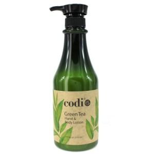 Codi Hand & Body Lotion, Green Tea 750ml