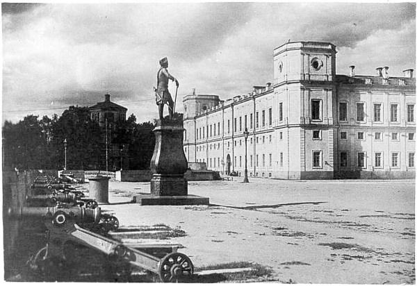 Старые фото Гатчины