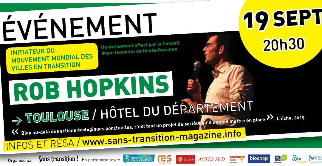 Rob Hopkins à Toulouse