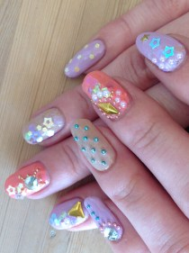 My Fairy Kei nails!