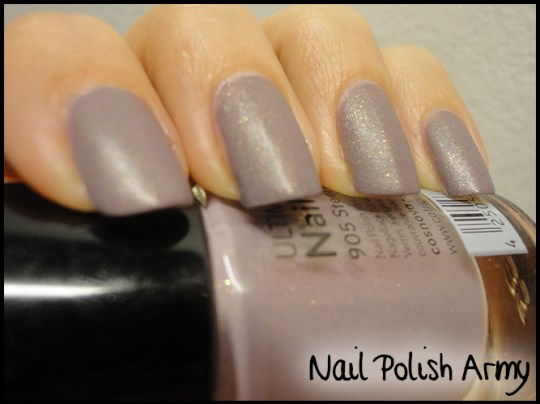 Catrice 905 Steel My Soul Brushed Metal Effect Matte discontinued