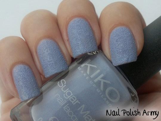 Kiko-Sugar-Mat-635-Glicine-Wisteria-swatch-sand-effect-nail-polish-smalto-effetto-sabbia