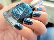 esmaltes, esmalte, uñas, nail polish, swatch, sally hansen, mermaid's tale, glitter, salon manicure, sally hansen méxico, glitter azul, sirena, colores