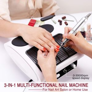 MiSMON 3 in 1 Nail Dust Collector