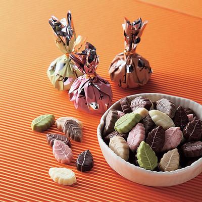 モンロワールの美味しいリーフメモリーチョコレート