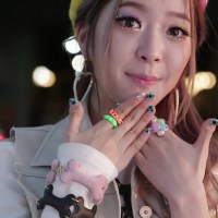 Kpop Nail Art | Dal Shabet Ahyoung 'Have, Don't Have' Inspired Nails