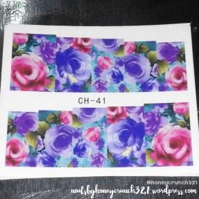 purple flower decal 2
