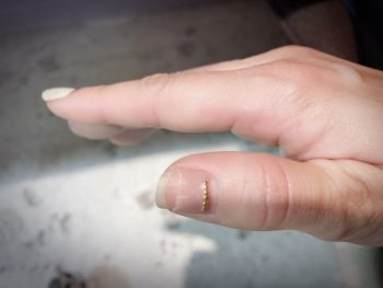 ジェルネイルが持たない爪ってこんな爪!どうしたらいいの?