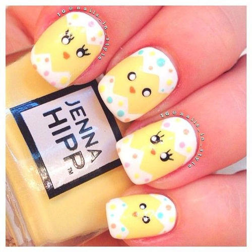 Easter Nail Art With Ens